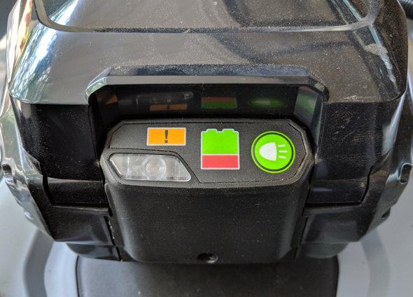 EGO 21inch push mower headlight switch