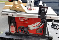30 Minutes with the New Milwaukee Cordless Table Saw