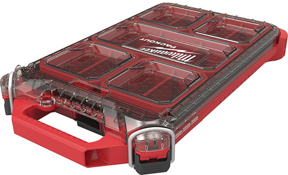 Milwaukee Packout Slim Organizer Half Size