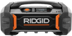 New Ridgid 18V Gen5X Charging Radio