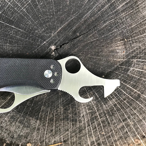 Spyderco Clipitool Knife Multi-Tool Bottle Opener