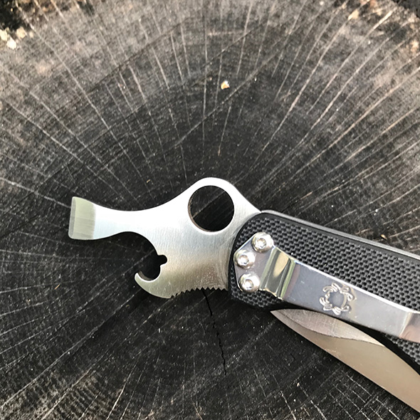 Spyderco Clipitool Knife Multi-Tool Can Cap Lifter