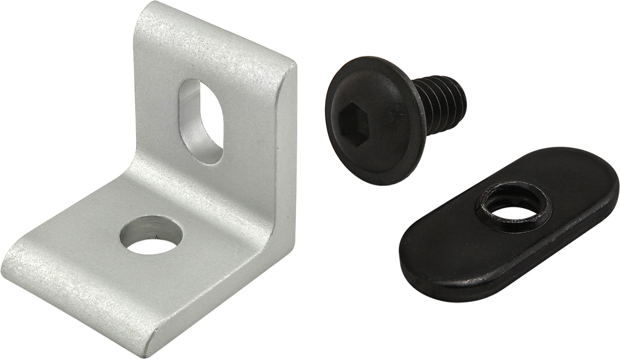 8020 Angle Bracket and Fasteners