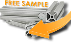 Free 80/20 Aluminum T-Slot System Sample Offer