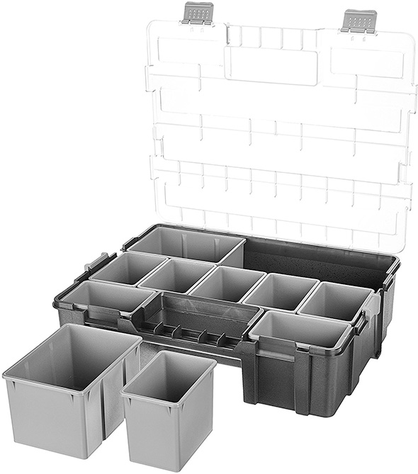Amazon Basics 10 Compartment Parts Organizer