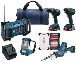Bosch 18V Cordless Combo Kit August 2018