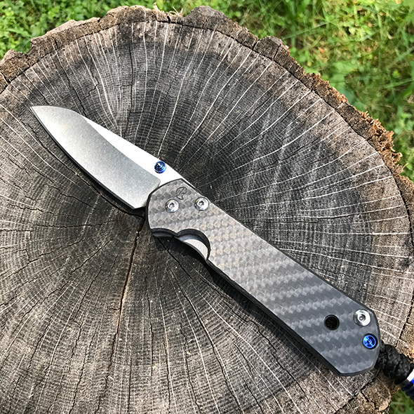 Chris Reeve Sebenza Insingo with Carbon Fiber Handle Scale