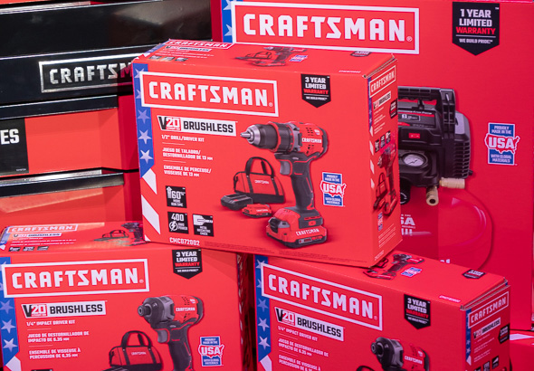 Craftsman V20 Brushless Drill Made in USA Packaging