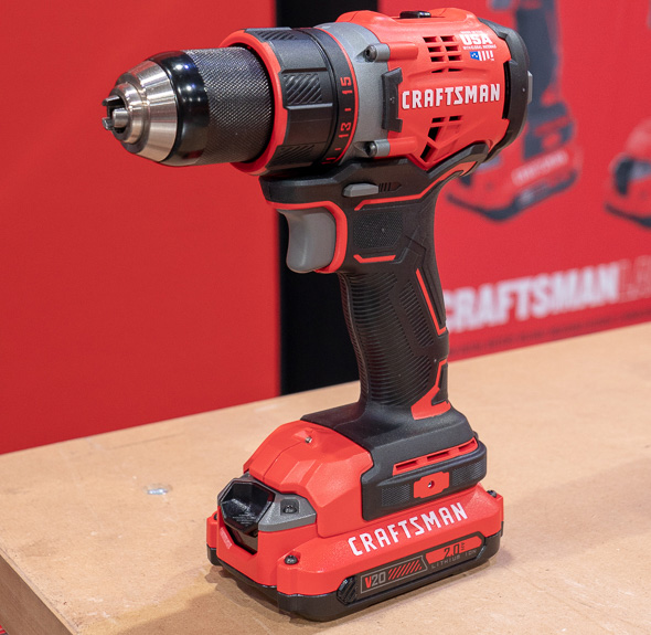 First Thoughts on the New Craftsman V20 Cordless Drills and