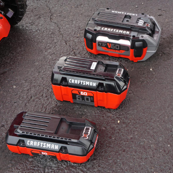 Craftsman V60 battery lineup