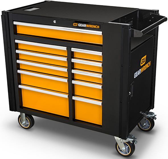 new gearwrench mobile work station tool cabinet