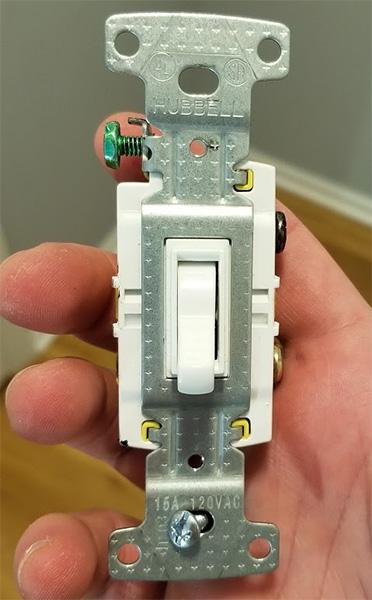 Hubbell Light Switch Broken