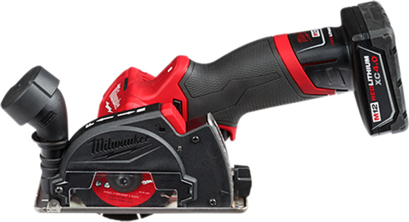 Milwaukee M12 Fuel Cut-Off Tool with Dust Shroud