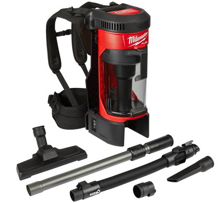 Milwaukee M18 Fuel BackPack Vacuum and Accessories