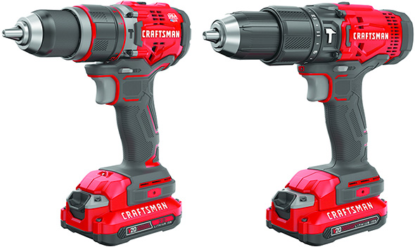 New Craftsman V20 Cordless Hammer Drills for 2018