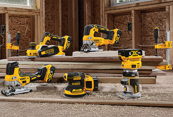 New Dewalt Cordless Woodworking Tools - Router Jigsaws and Sander