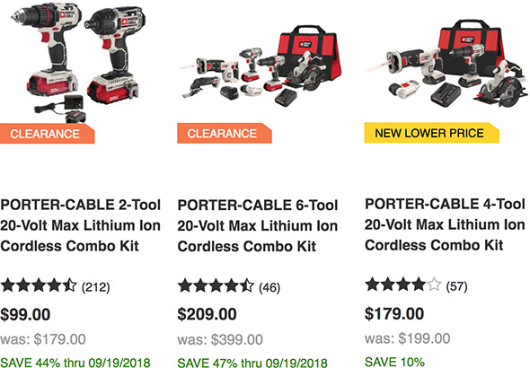 what will new craftsman cordless power tools mean for porter cable?