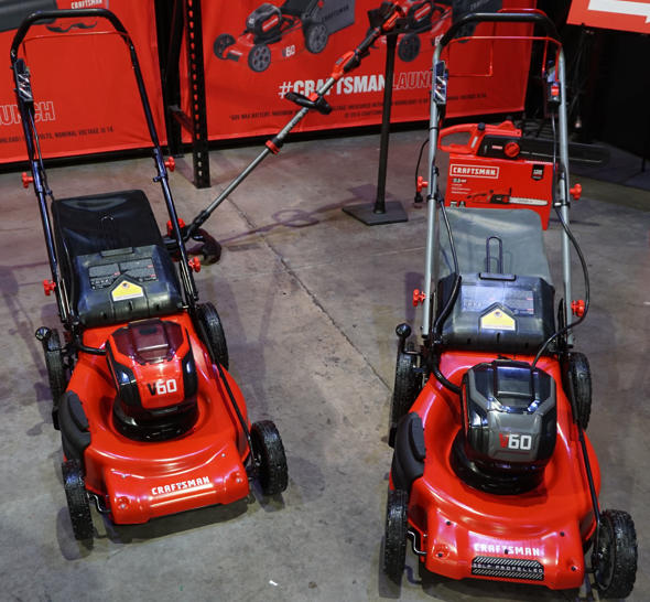 Craftsman V60 Self Propelled and Push Lawn Mowers