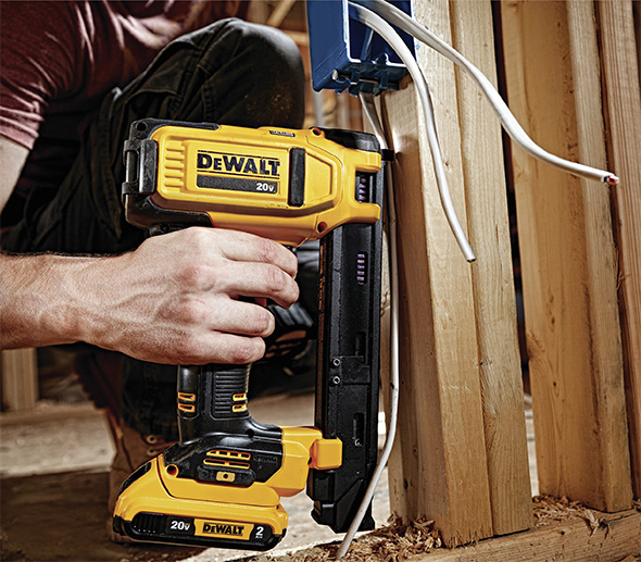 New Dewalt Cordless Electrical Cable Stapler Dcn701