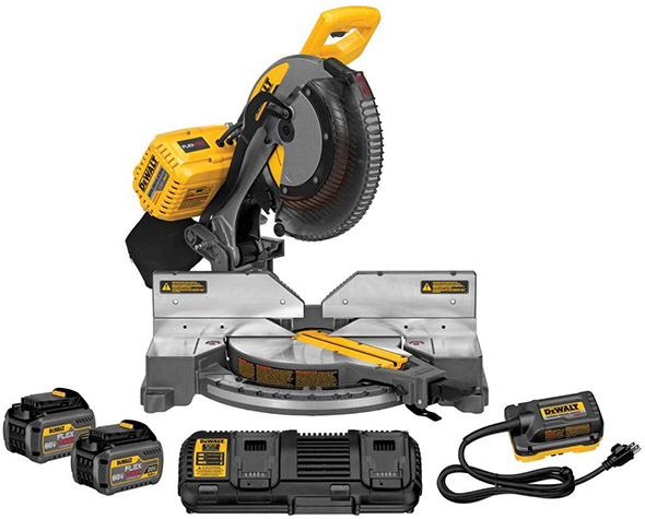 Dewalt FlexVolt Miter Saw Kit DHS716AT2