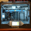 Dremel Digilab 3D45 3D Printer at My Computer Desk