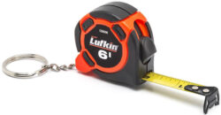 Lufkin Tape Measure Keychain