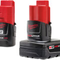 Milwaukee M12 Compact vs XC Battery Pack Differences