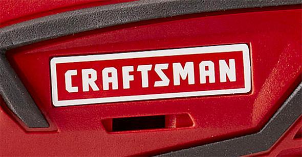 Sears Craftsman 20V Cordless Drill Branding