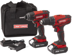Sears Launches New Craftsman 20V Max Cordless Power Tools