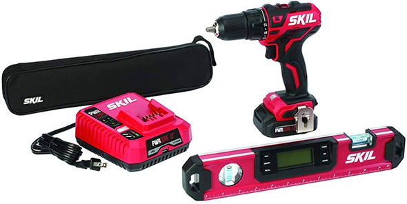 Skil PWRCore 12 Brushless Drill and Digital Level