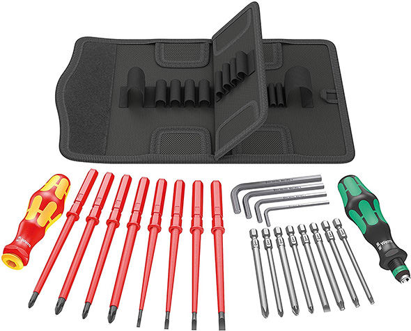 Wera Tool Advent Calendar 2018 Components