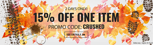 Acme Tools Crushing Promo October 2018