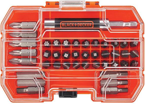 Black & Decker 42pc Screwdriver Bit Set