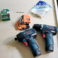 Bosch 12V Tools for Cabinet Drawer Installs