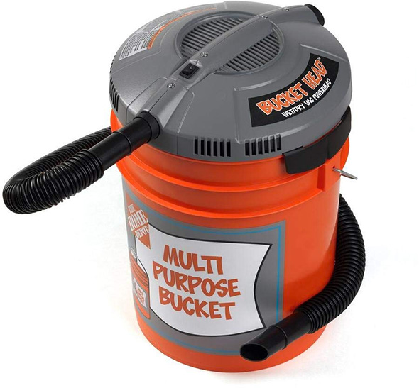 The Bucket Head Vacuum Makes a Lot of Sense