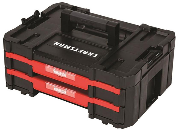 Craftsman 2-Drawer Versastak Tool Box