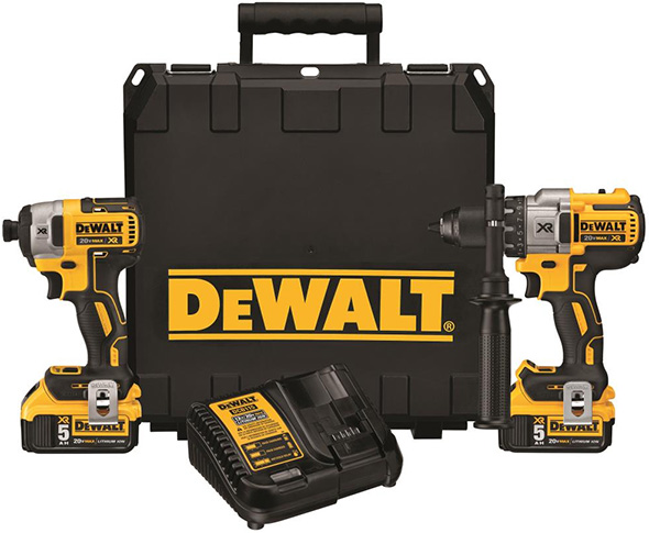 Dewalt 20V Max Premium Brushless Combo Kit