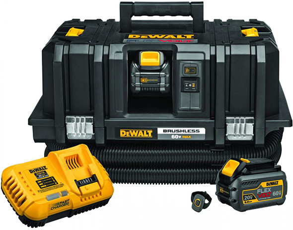Dewalt DCV585T2 FlexVolt Vacuum Dust Extractor Kit with Wireless Remote