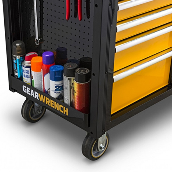 Gearwrench Mobile Work Station Pegboard and Spray Can Shelf