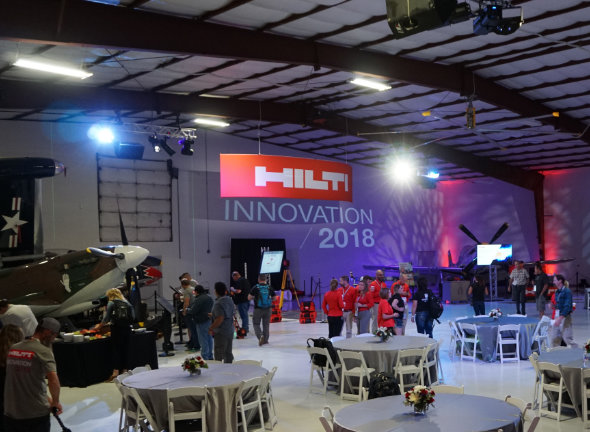 Hilti Innovation 2018 Main Hangar