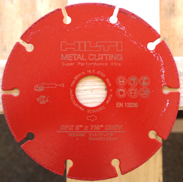 Hilti Metal Cutting Blade