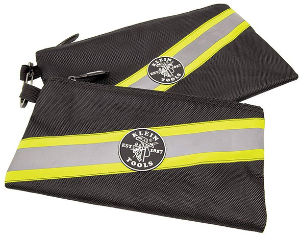 Klein High Visibility Zippered Tool Bags