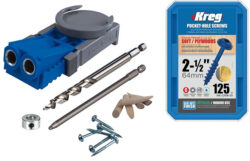 Kreg R3 Pocket Hole Jig with Free Box of Screws Walmart Deal Bundle