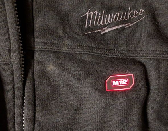 Milwaukee Heated Hoodie Switch