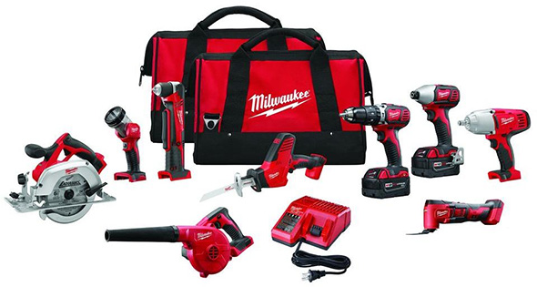 Milwaukee M18 2695-29 Cordless Power Tool Combo Kit