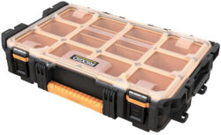 New Ridgid Clear-Lid Organizer (Part of Their Modular Pro Tool Box System)