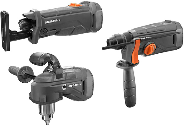 Ridgid MegaMax Octane Tool Attachments