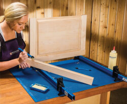Rockler Silicone Project Mat XL on Workbench