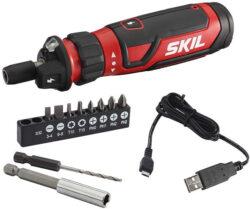 Skil Cordless Screwdriver with Circuit Sensor Technology