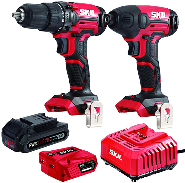New Skil Pwrcore 20v Cordless Power Tools First Look